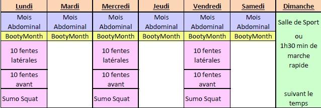 Fitness et Beauté: Programme sportif