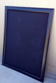 Large Black Chalkboard ($50)