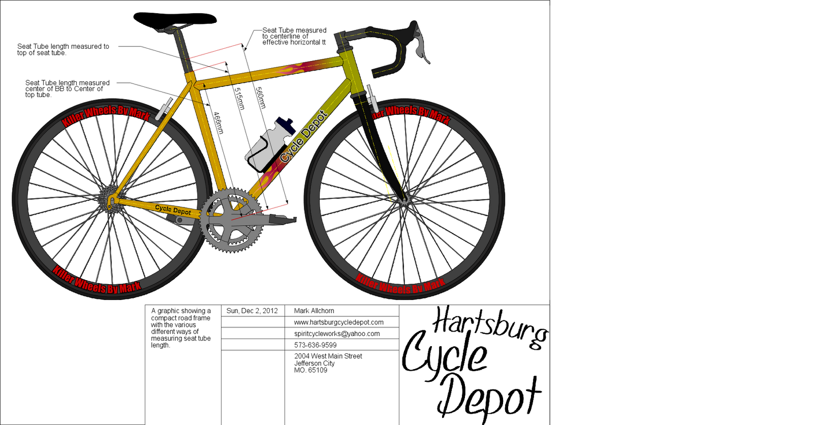 Cycle Depot: Bicycle Measurement