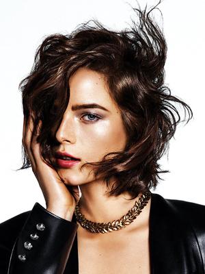 peinados con ondas cortes de pelo 2014 medios