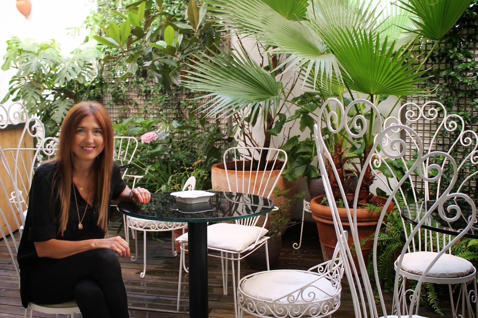 Juan Gatti, Designs, Elena Benarroch, leather, fashion style, party, look, lifestyle, Carmen Hummer