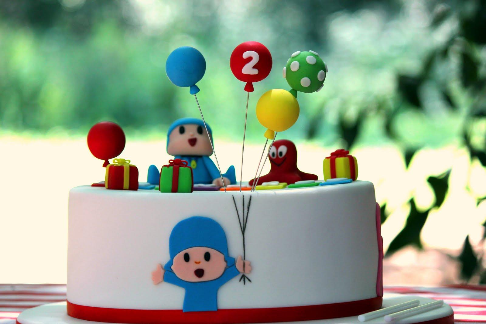 Super Bimbynhazita: Bolo de Aniversário - Pocoyo & Friends QZ77