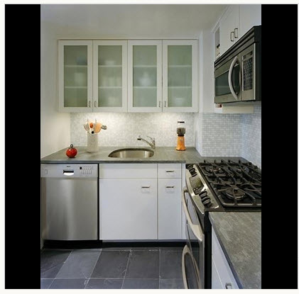 Dise o de cocina peque a con ideas y fotos construye hogar for Como armar mi cocina