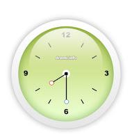 Cara agar Blog mempunyai Jam