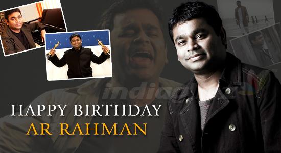 Musician AR Rahman Birthday Greetings