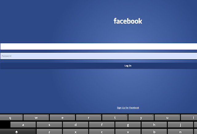 Facebook Android app on BlueStacks