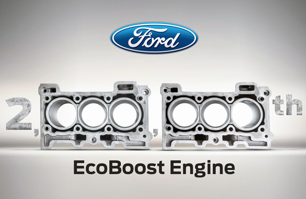 2 Millionth Production Ford EcoBoost Engine