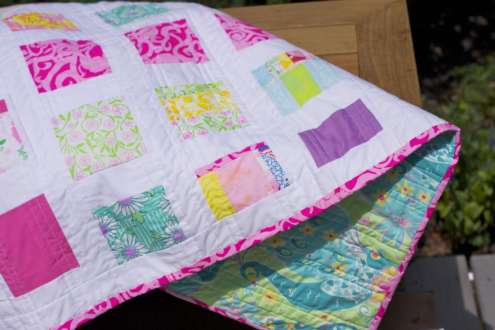 Shortcookie: Blogger's Quilt Festival! : lilly pulitzer quilts - Adamdwight.com