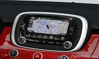 Fiat 500X Uconnect 6.5 Radio