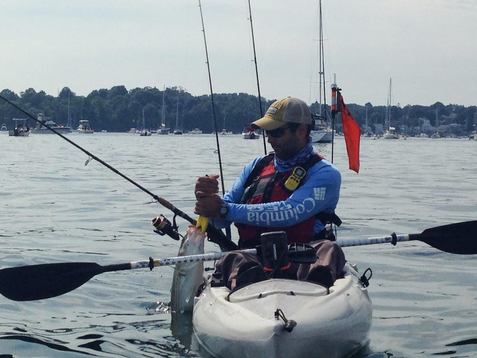 Interstate kayak fishing 9th annual new england kayak for Kayak fishing tournaments