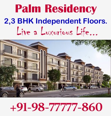 Book 2,3 BHK Floors at Palm Residency