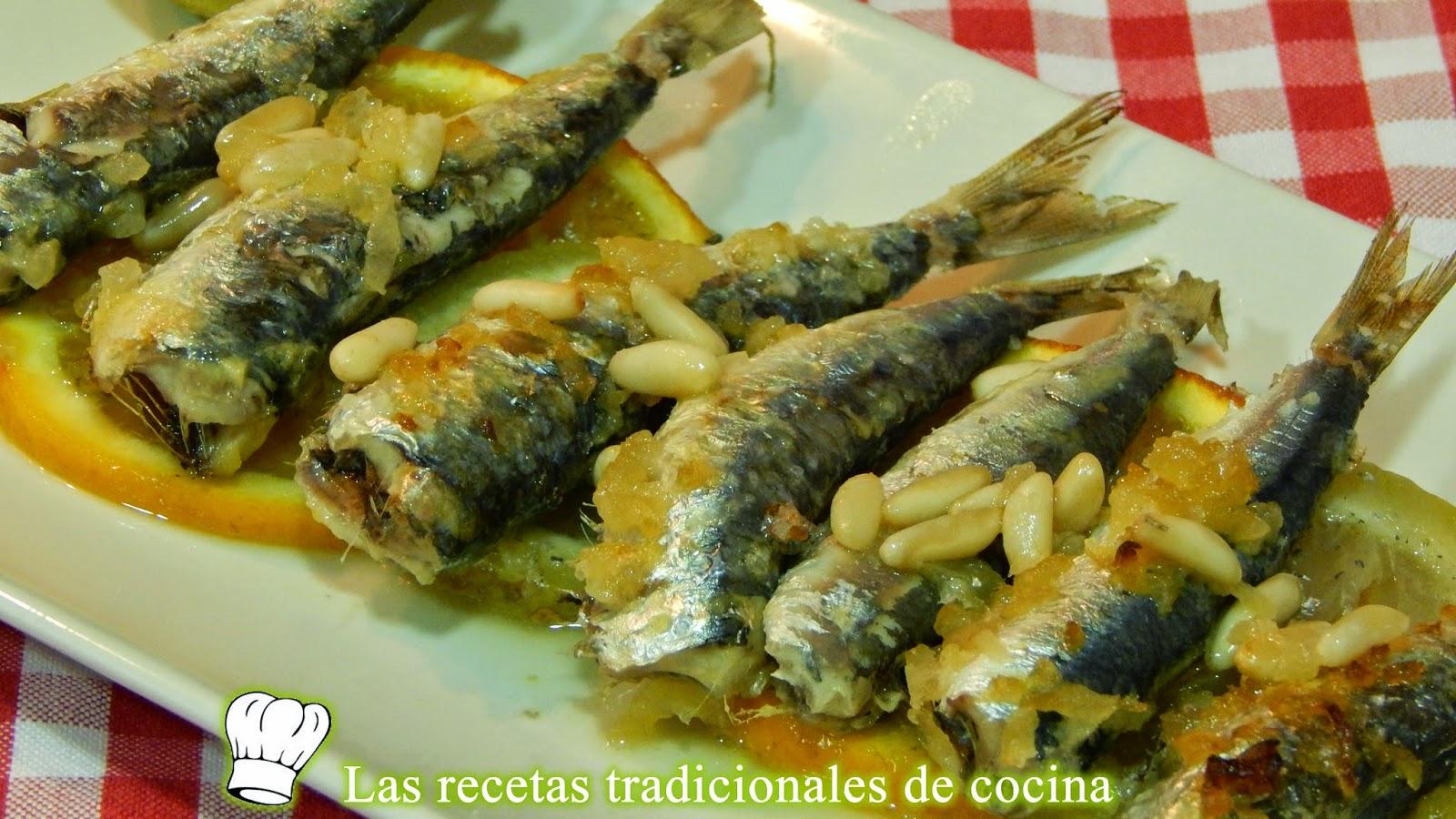 sardinas al horno a la Valencina