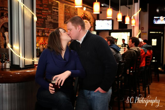 The Buck Burgers & Brew Engagement Session, Saint Joseph, Michigan