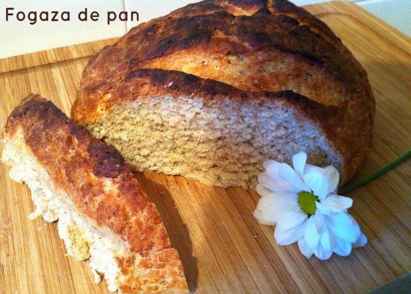 Fogaza de pan casero