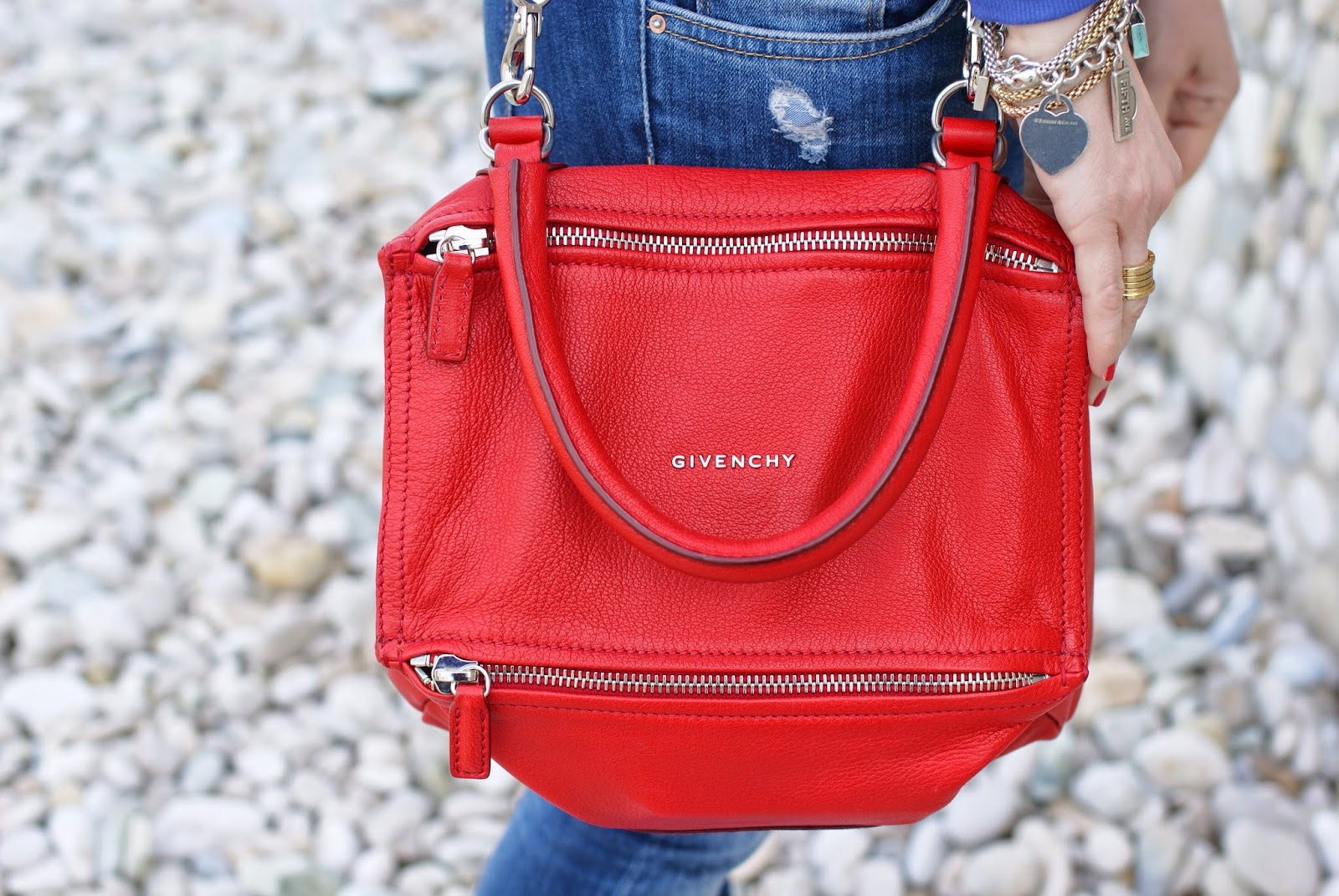Givenchy pandora bag small in red, red givenchy pandora bag, Fashion and Cookies fashion blog, fashion blogger style