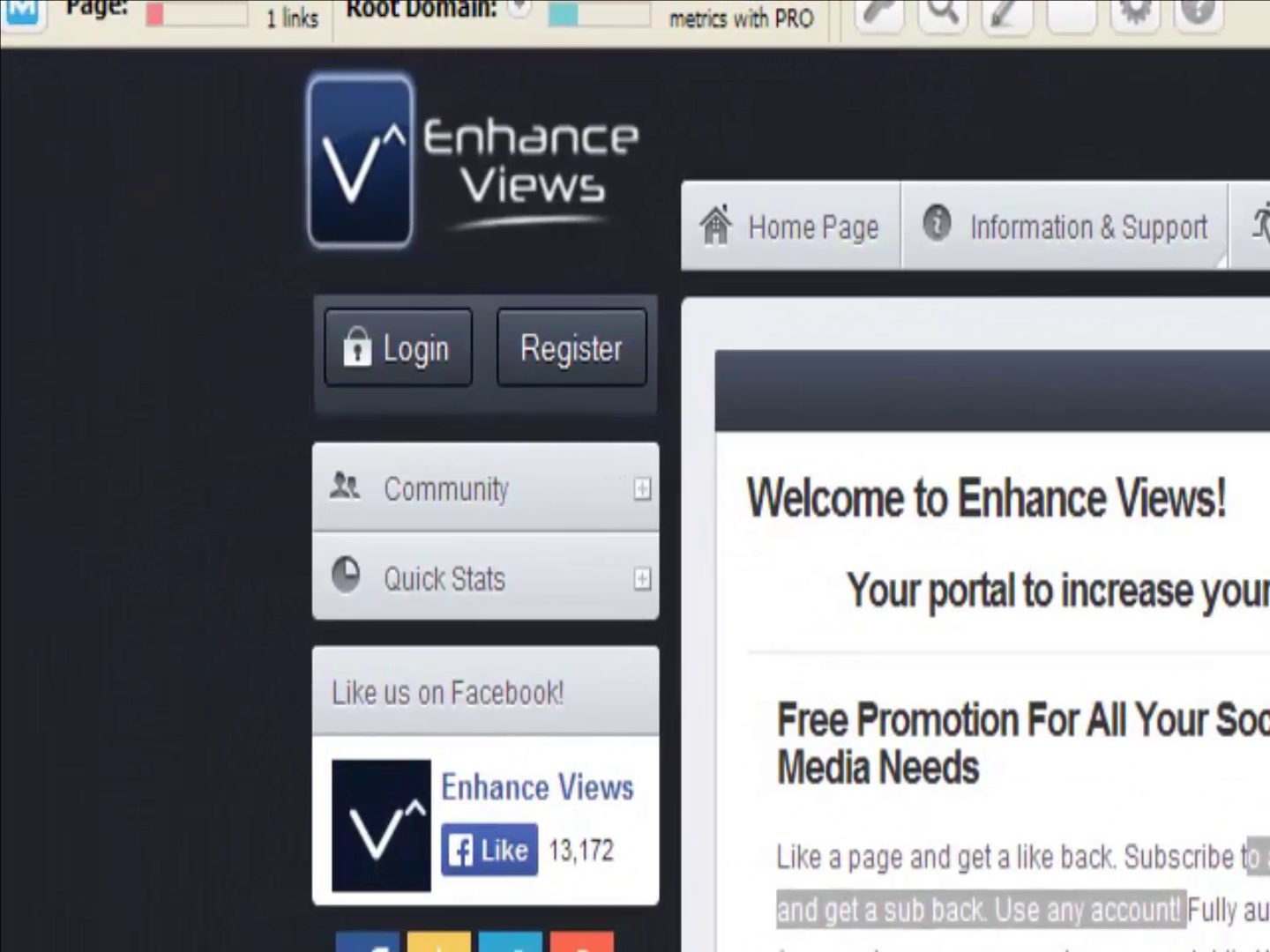 Enhanceviews Autowatcher: How get free views, likes, subscribers