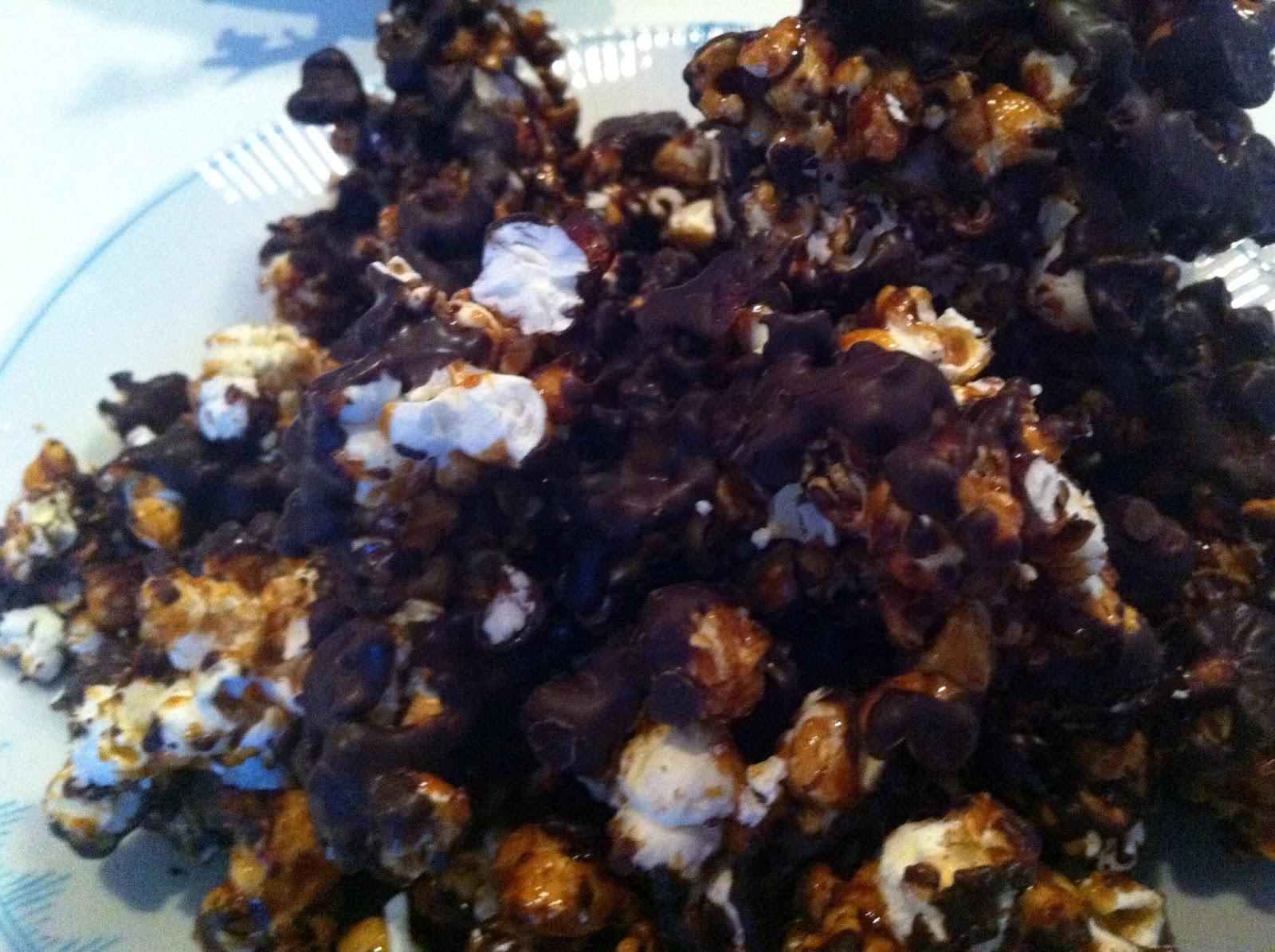 Popcorn chokolade