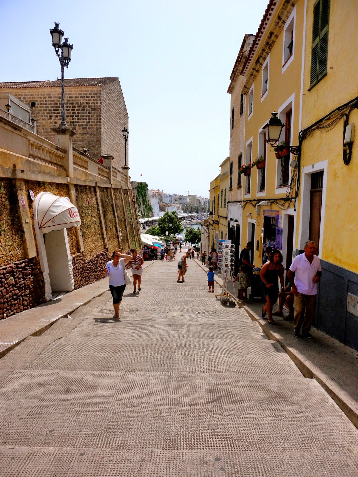 Travel Inspiration | Menorca, Spain | town street