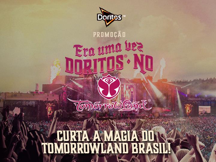 """Promoção  Doritos No Tomorrowland Brasil"""""""