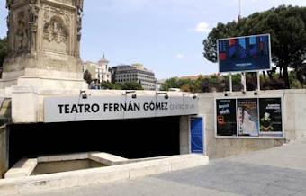 Enlace Web Teatro Fernán Gómez