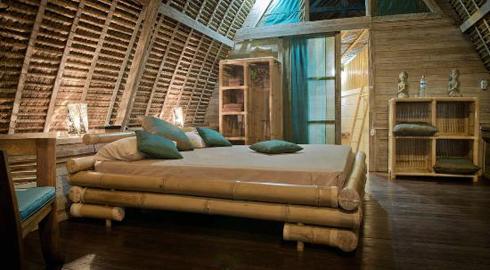 Milo's Home Jimbaran Bali Bedroom