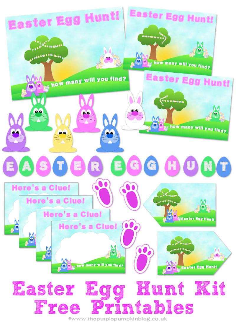 Easter Egg Hunt Kit – Free Printables