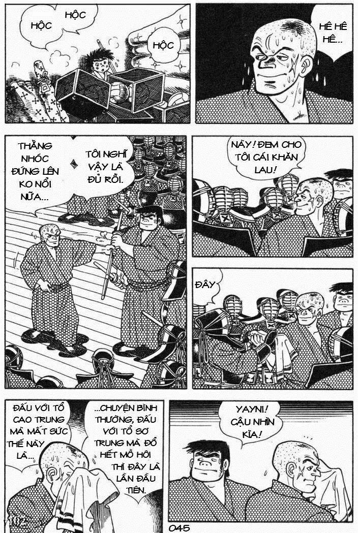 Siêu quậy Teppi chap 105 - Trang 45