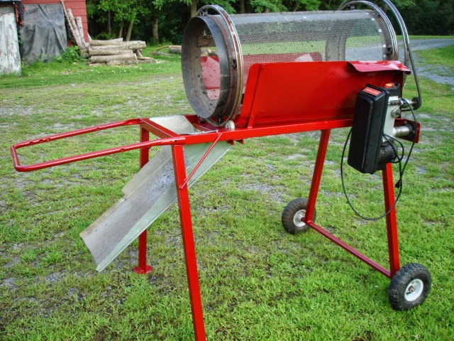 Homemade Compost Trommel