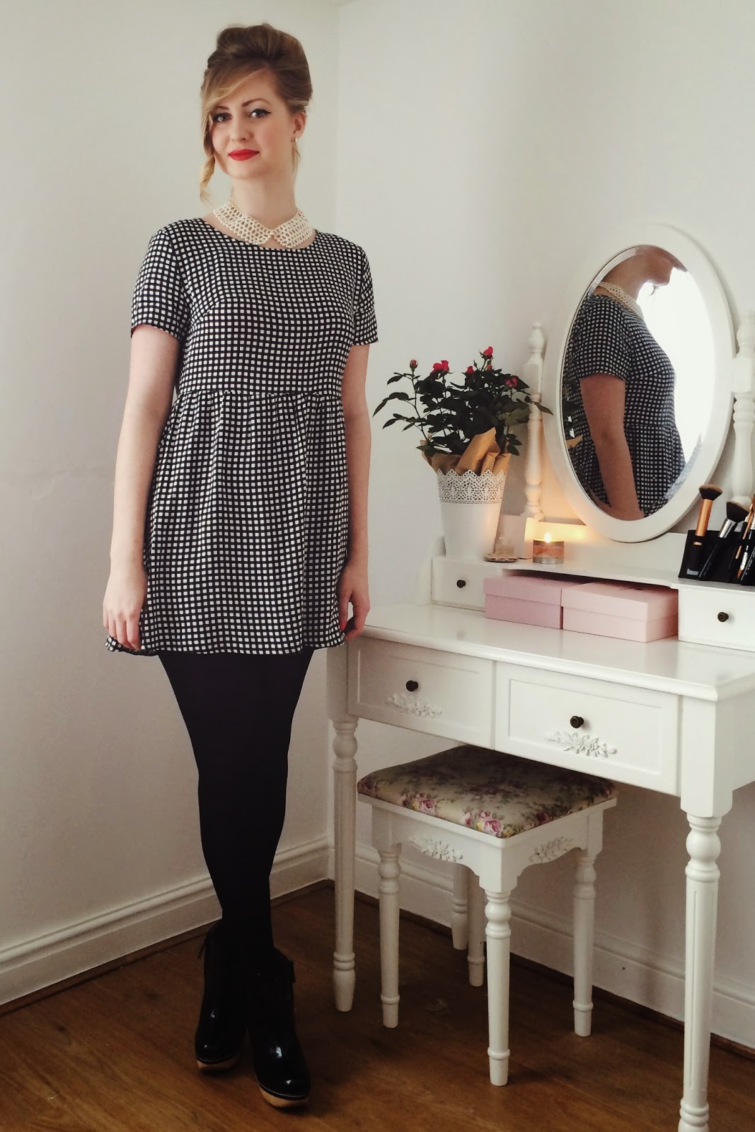FashionFake, UK fashion blogger - what to wear on Valentines Day, Spring 2015 gingham trend