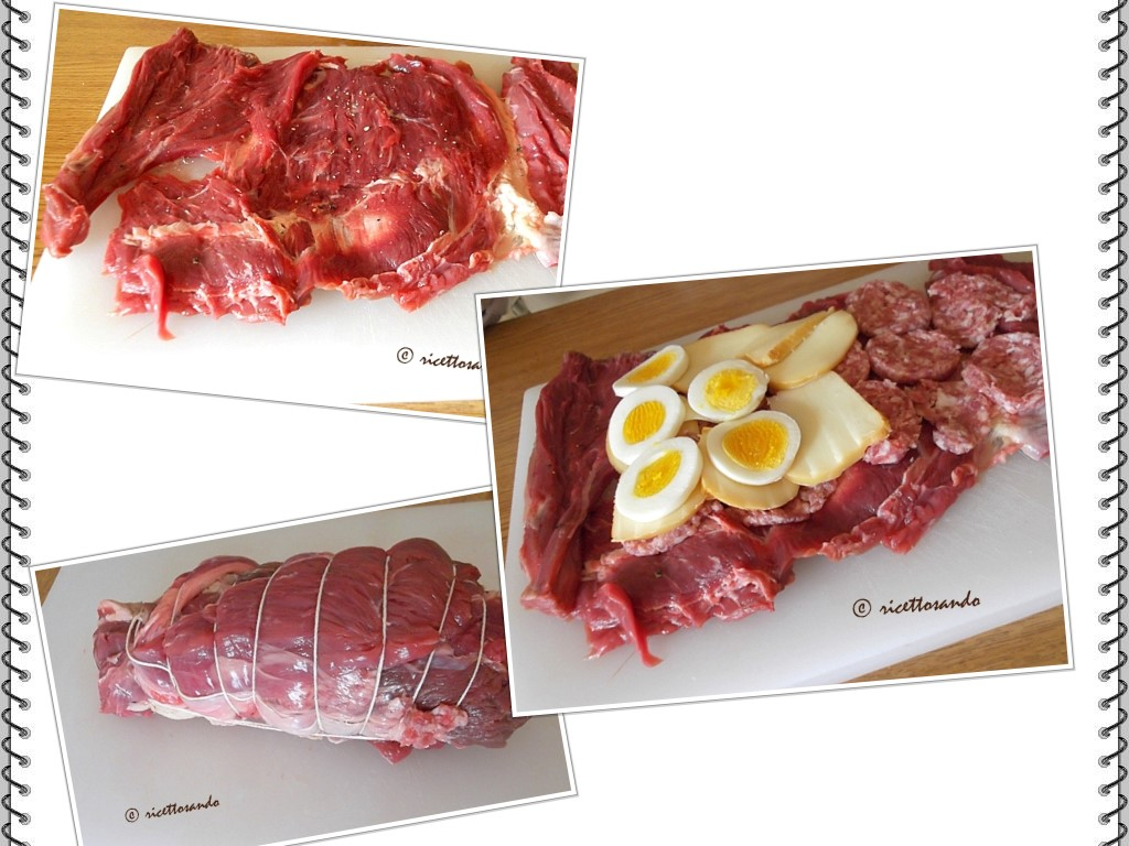 Falsomagro ricetta tradizionale di arrosto ripieno