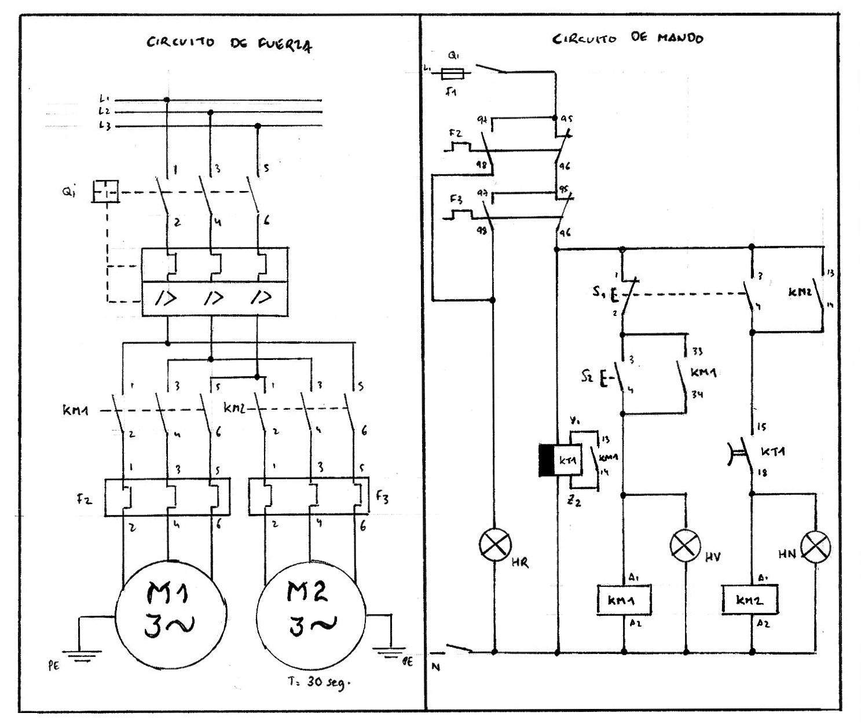 Pr ctica 4 8 arranque motor 2 despu s de paro for Motor para cascada