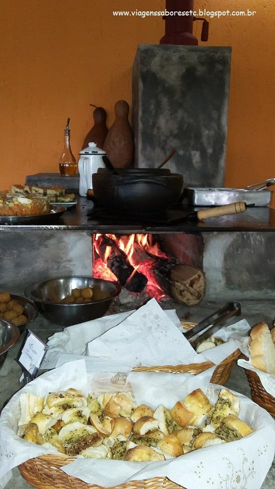 Café da Manhã no Sitio Sassafraz - SP