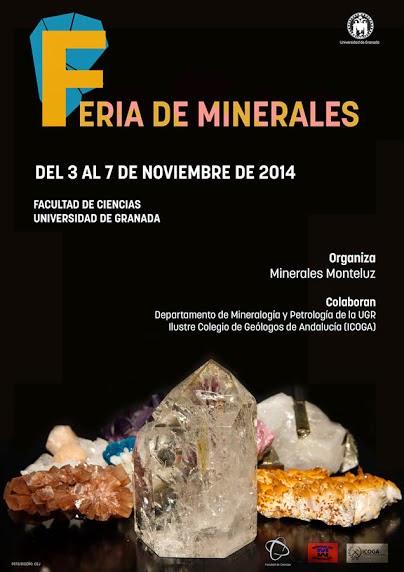 FERIA MINERALES UNIVERSIDAD DE GRANADA