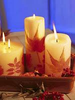 Есенни декоративни свещи