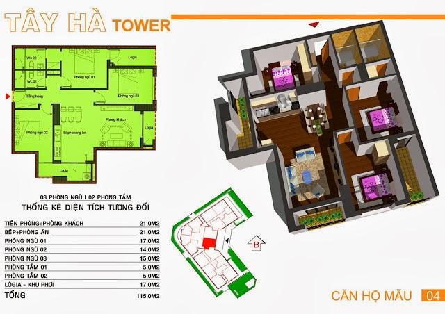 Chung Cư Tây Hà Tower, chung cu tay ha tower, 09
