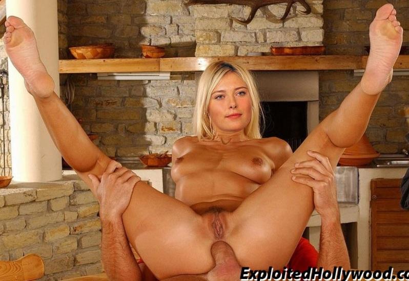 Maria Sharapova Full Nude Showing Boobs And Pussy