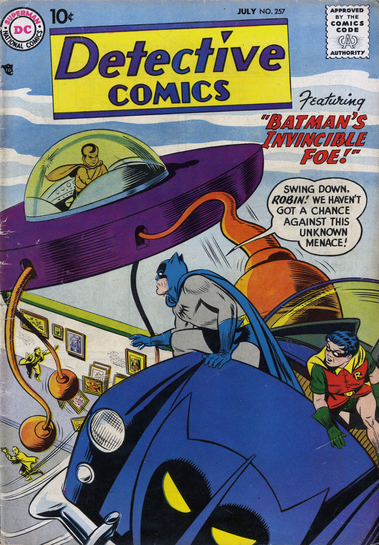 Detective Comics (1937) 257 Page 1