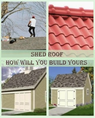 Shed Roof - How Will You Build Yours?