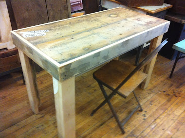 #3-24 Specialty Tables - Double Apron Table