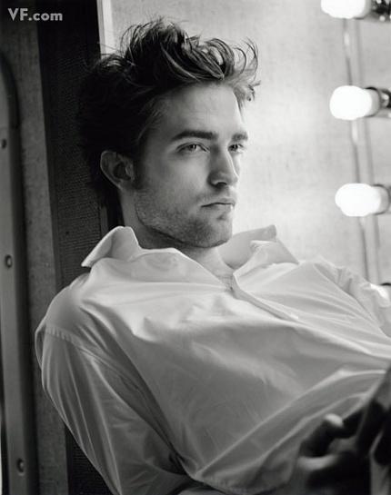 robert pattinson vanity fair photo shoot piano. Robert Pattinson has seen his