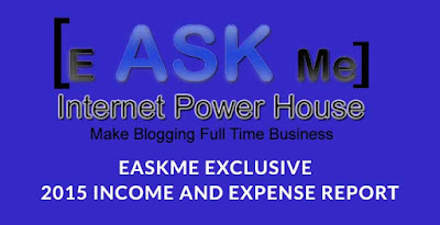 eAskme Exclusive – 2015 Income and Expense Report : eAskme