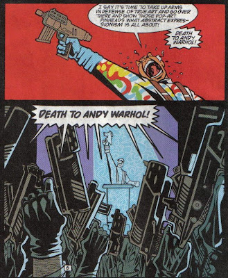 Yeah, death to Andy Warhol!