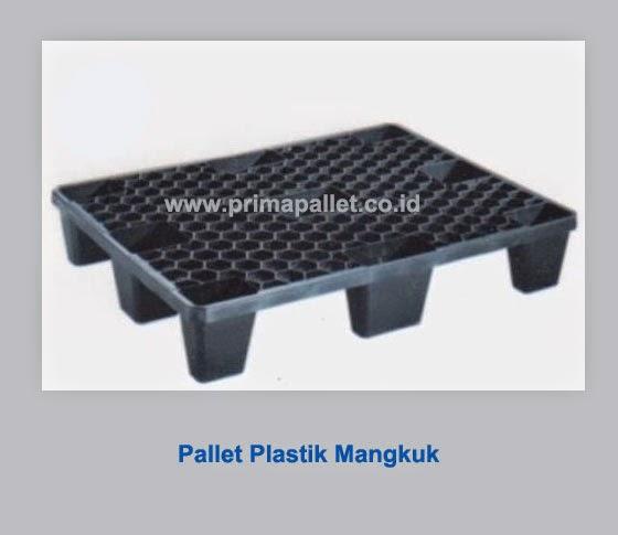 Pallet plastik mangkuk
