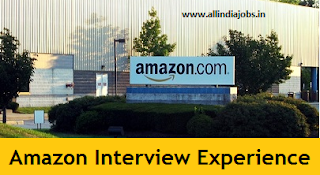 Amazon Interview Experience