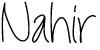 nahir, blogger