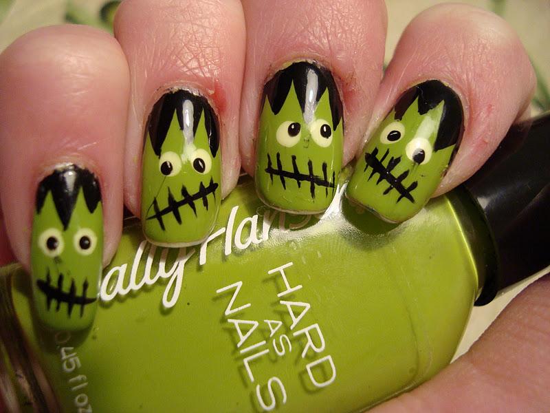 Spooktacular Halloween Nail Art - Ombre Candy Corn | Guff