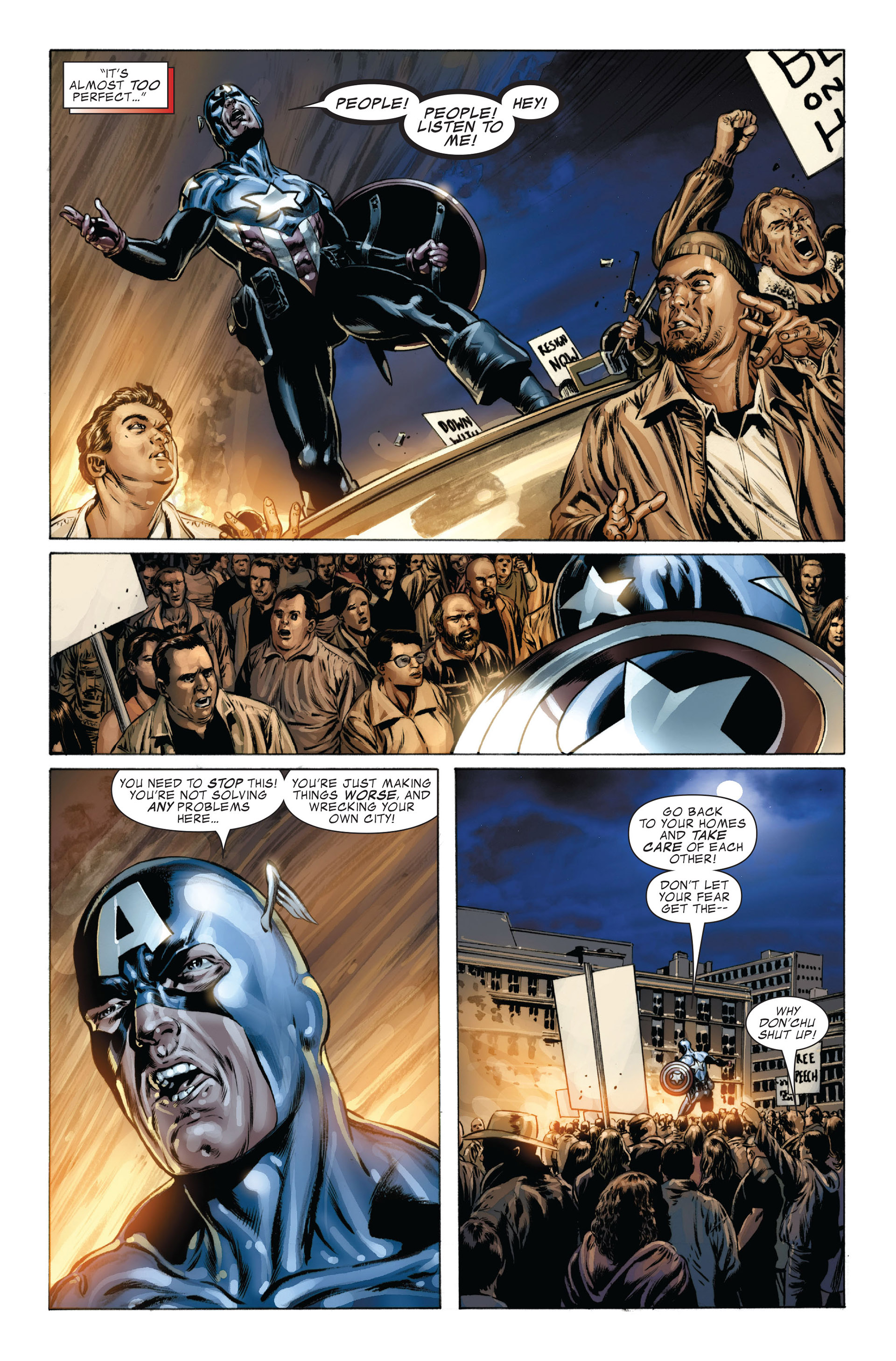 Captain America (2005) Issue #36 #36 - English 17