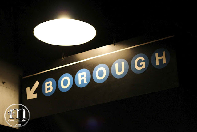 Borough Manila signage