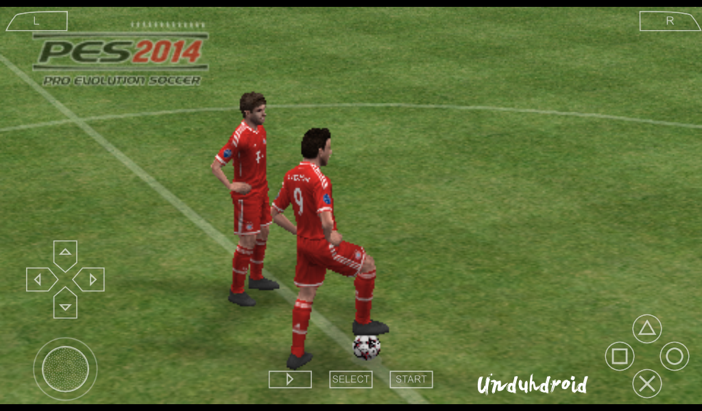 PES 2012 PSP Android