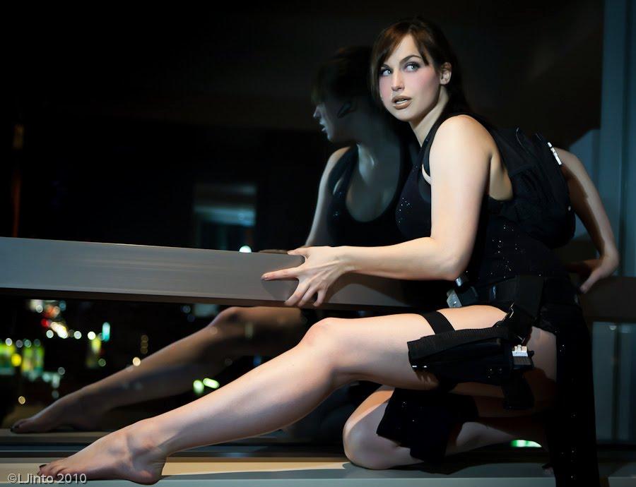 Anime Feet: DA BONUS: Lara Croft